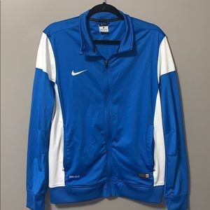 Authentic Nike DRI-FIT soccer quarter zip up
